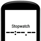 Cycling Stopwatch